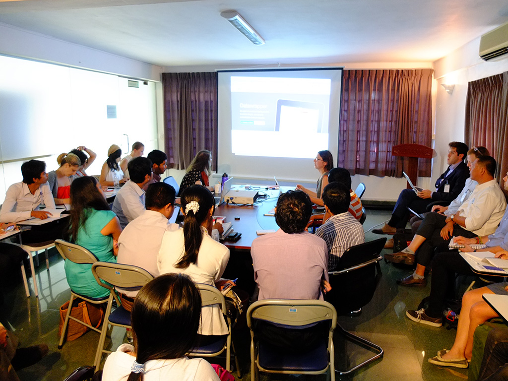 Workshop @ Transparency International Cambodia, Phnom Penh, Cambodia