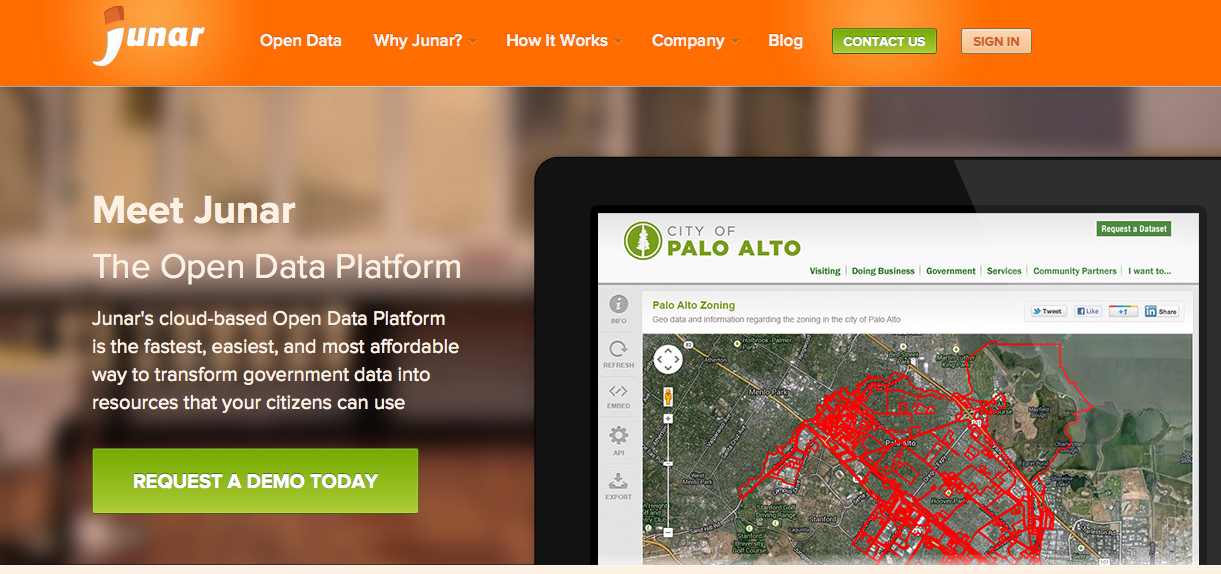 Interview with Diego May, co-founder of Junar @ Palo Alto, USA