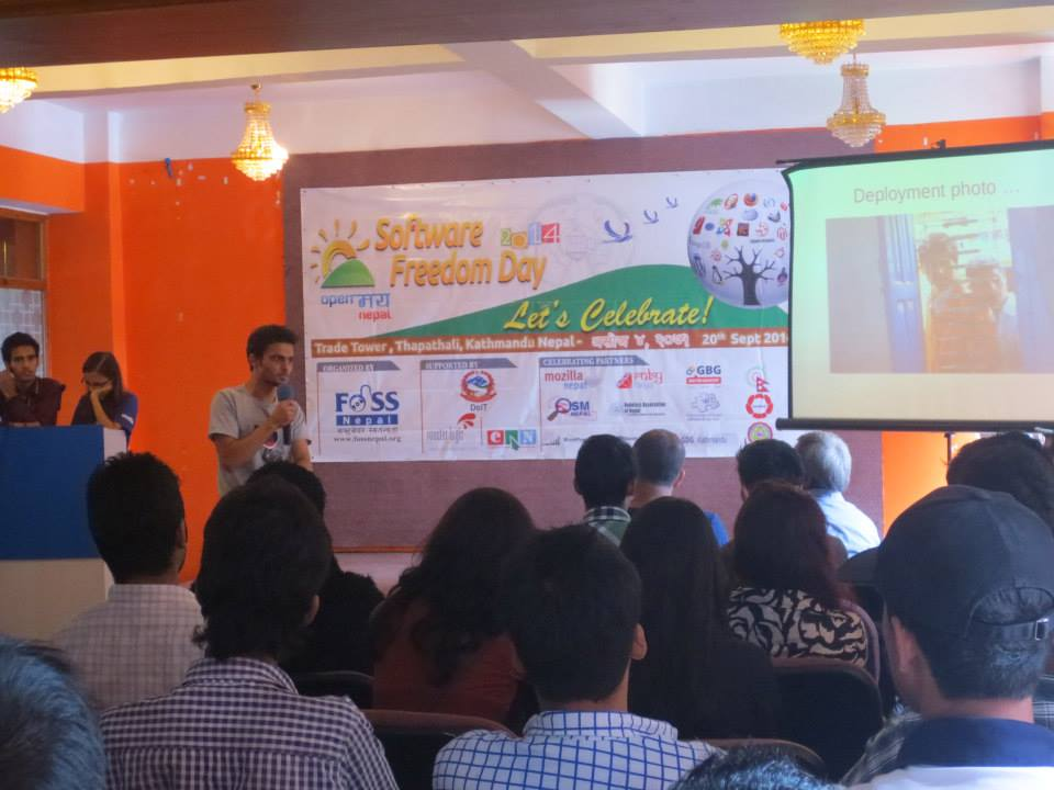 Software Freedom Day 2014 celebrated in Nepal